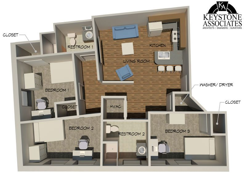 229 State St 3bed 2 - Layouts